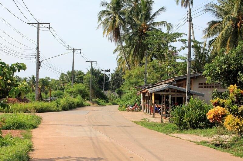 23 остров Ко Джум дороги