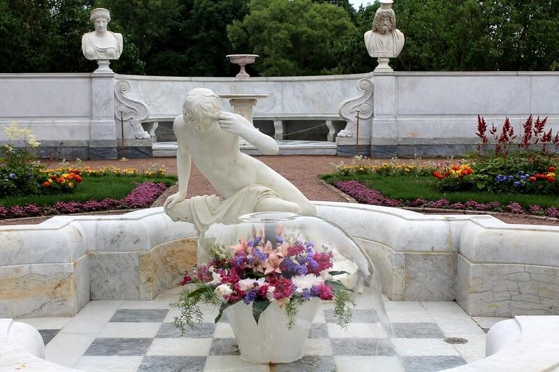 Петергоф неизвестные фонтаны