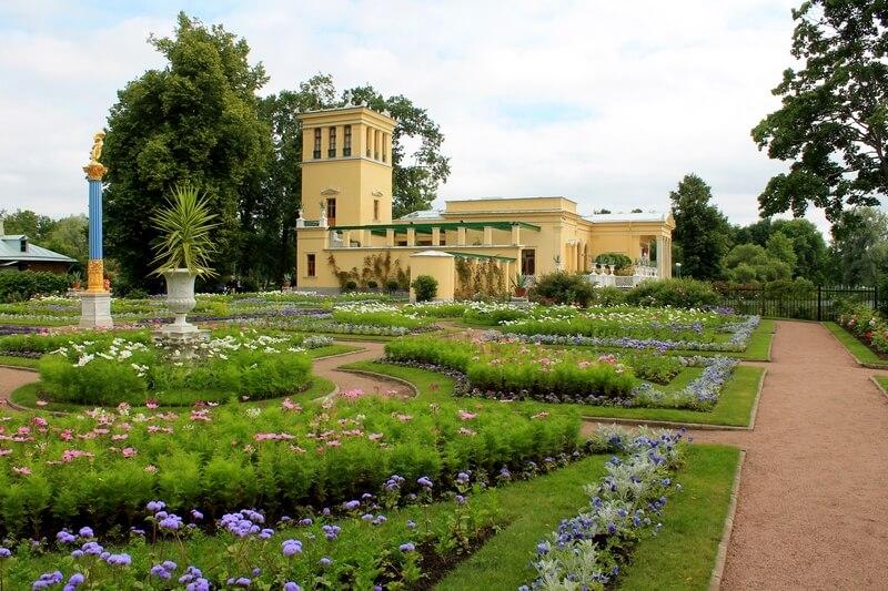 Колонистский парк Царский павильон