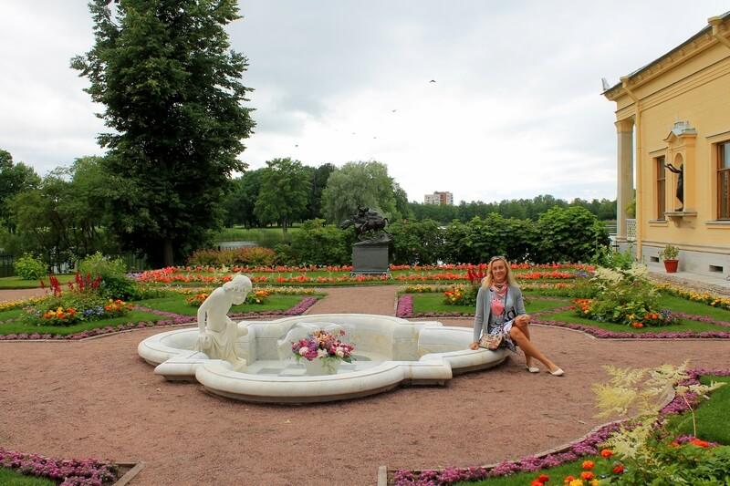 фонтан Нарцисс Петергоф