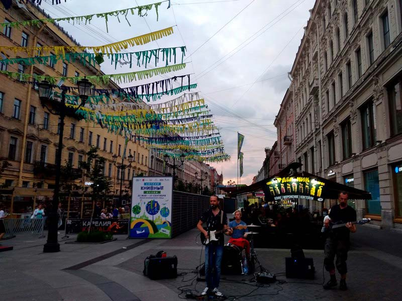 музыканты-на-Невском-проспекте