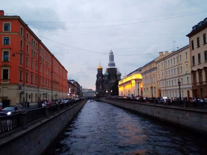 канал-Грибоедова-вечером