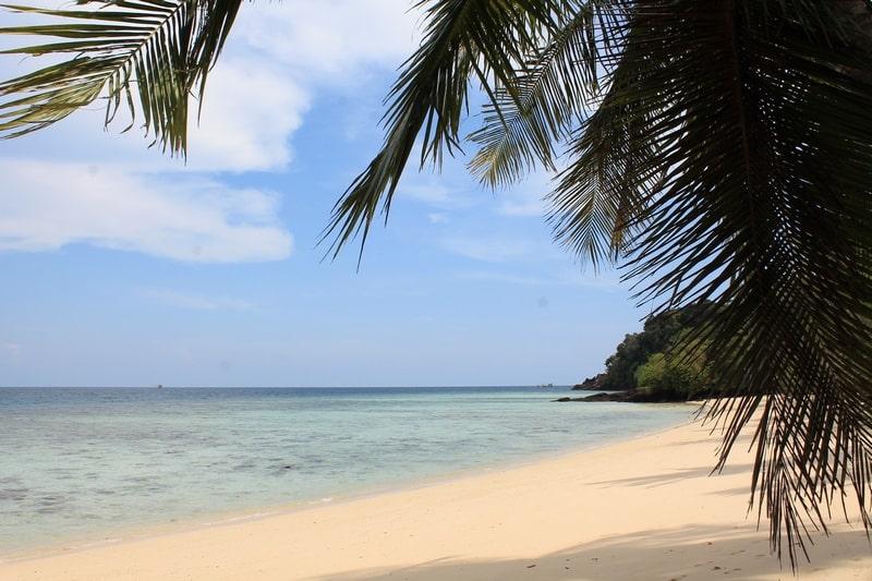 ко крадан пляж