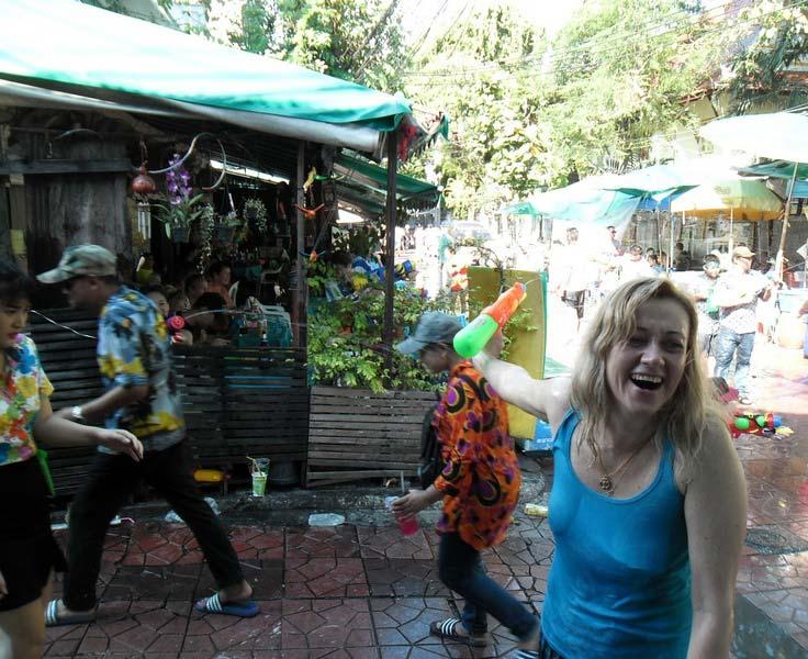 тайский Новый Год Сонгкран
