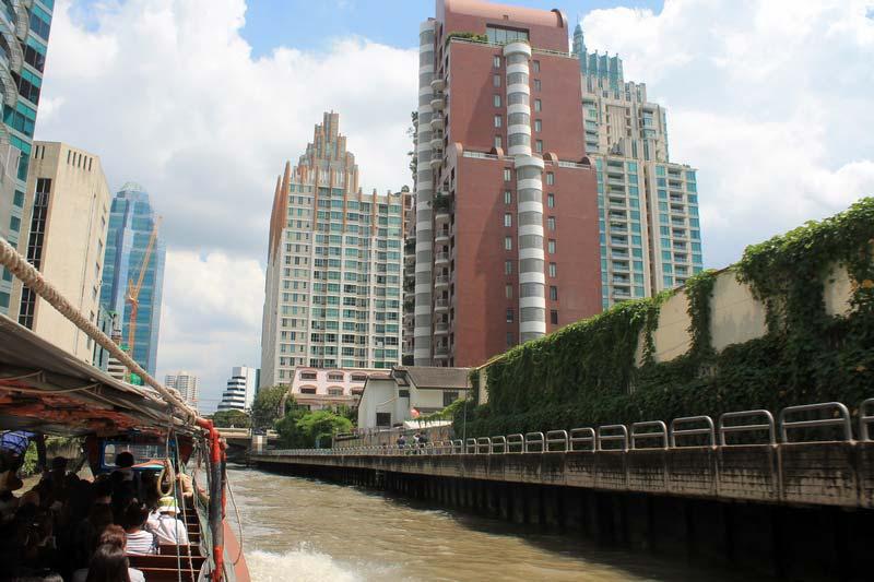 Бангкок-речной-транспорт