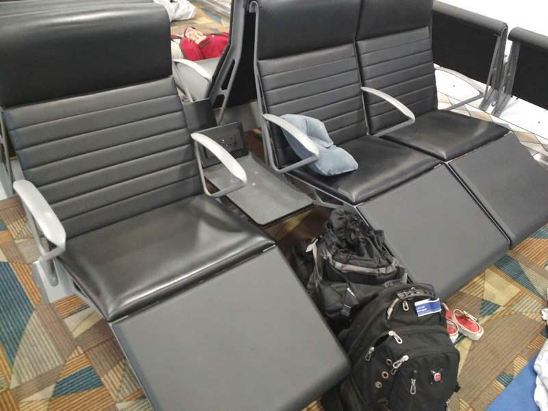кресла аэропорт Бахрейна