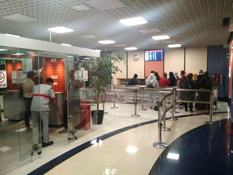 smoking area Bahrain Airport