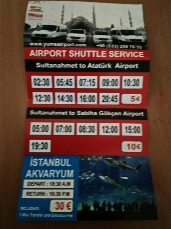 расписание-и-стоимость-трансфера-Стамбул-3