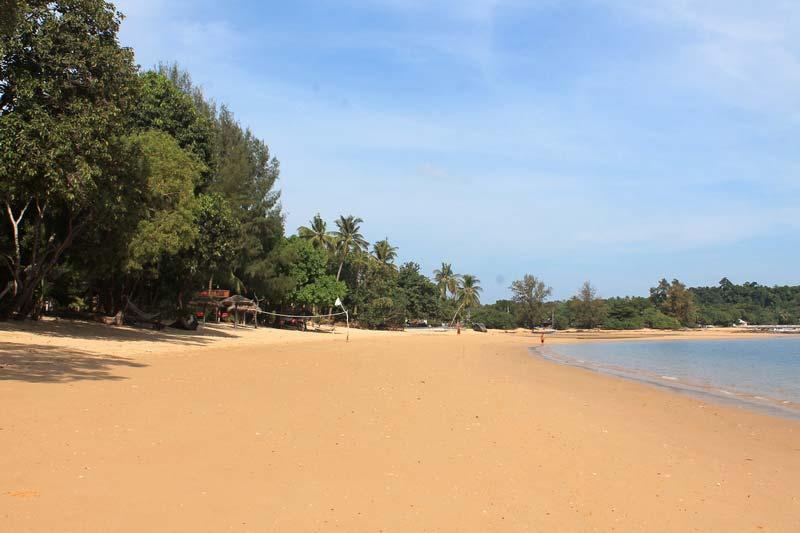 Пляжи-острова-Паям