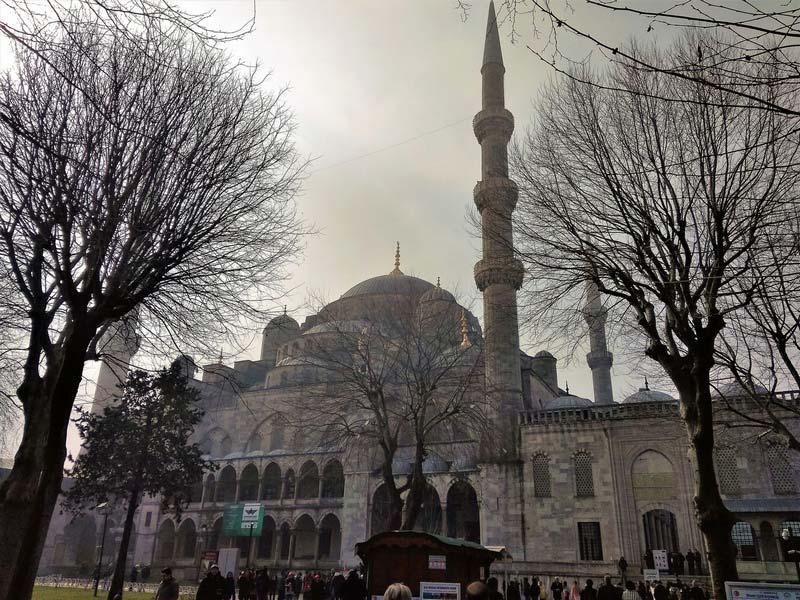 Голубая-мечеть-Стамбул
