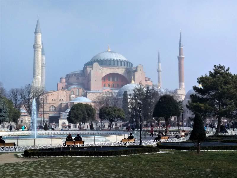 Айя-София-Стамбул