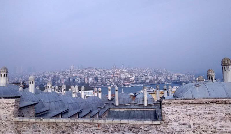 вид на Басфор Стамбул