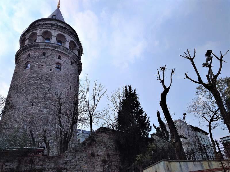 Галатская-башня-Стамбул
