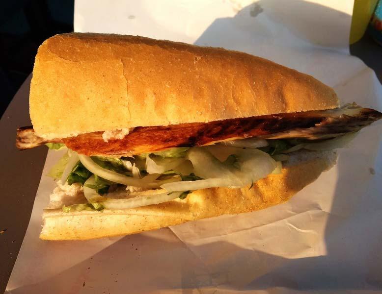 гамбургер-с-рыбой
