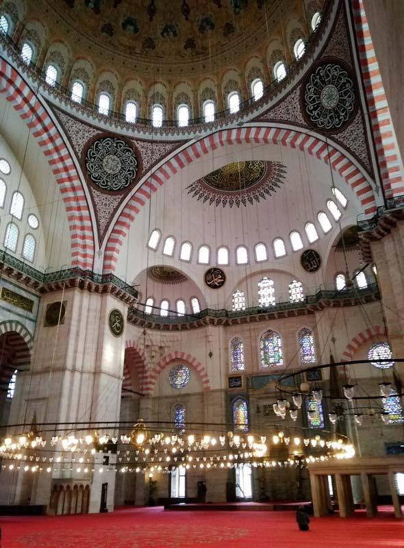 мечеть-Сулеймани-Стамбул