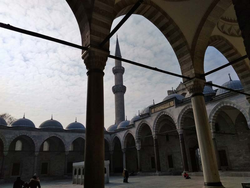 Стамбул-мечеть-Сулеймани