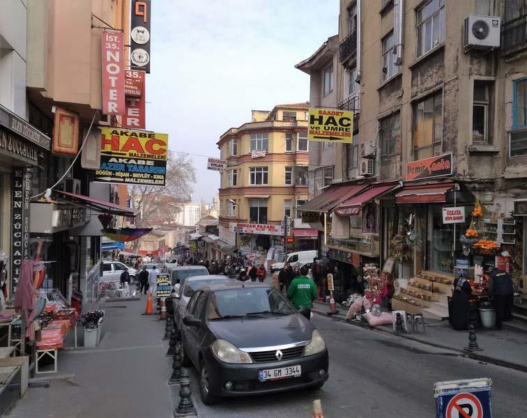 улицы-Стамбула-Султанахмет