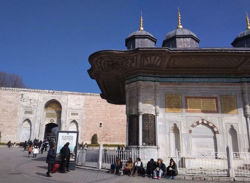 Дворец-Топкапы-Стамбул