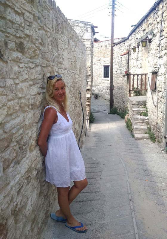 Деревня-Омодос-Кипр