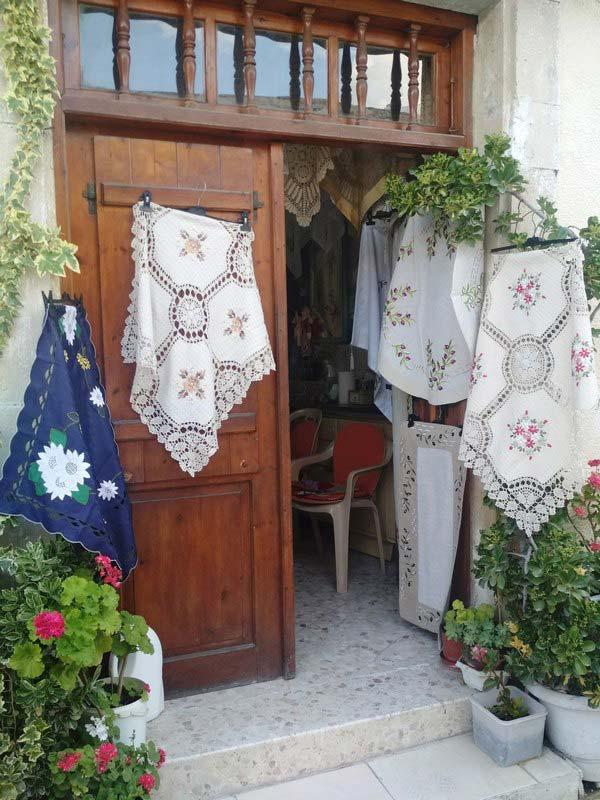 Омодос-вышивка
