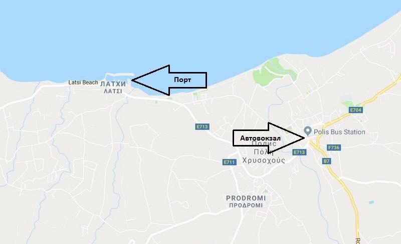 Автовокзал-и-порт-Полиса-на-карте