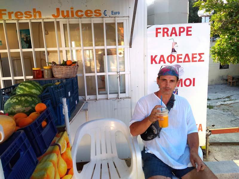 кипр свежевыжатый апельсиновый сок