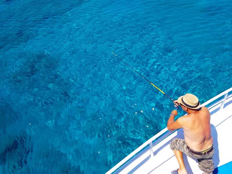 Кипр-рыбалка-лагуна