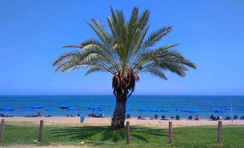 Латхи-Кипр-пляж