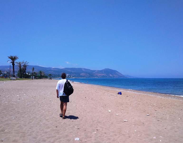 Пляж-Полиса-Кипр