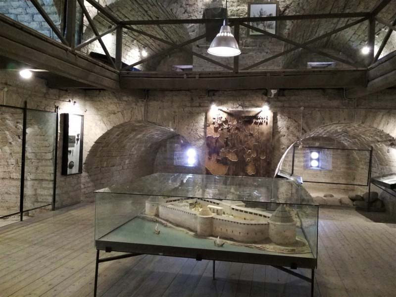 музей Староладожская крепость