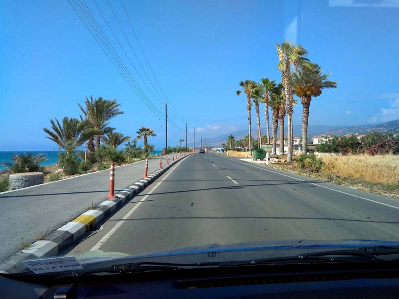 дороги-на-Кипре