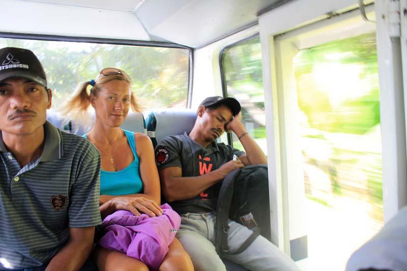общественный транспорт в Бали