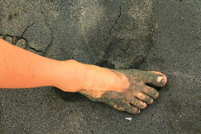 песок в Пемутеране