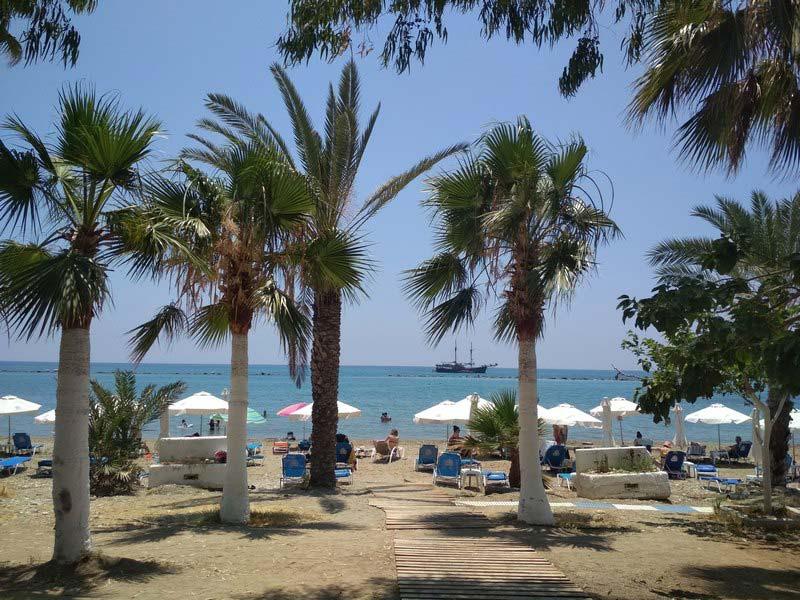 пляж-Geroskipou-Beach