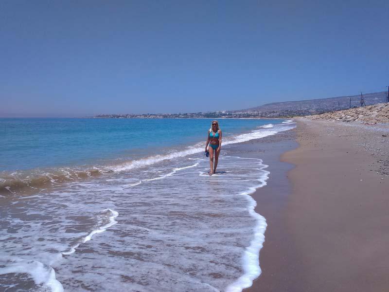 Пляж-Blue-Coral-Beach