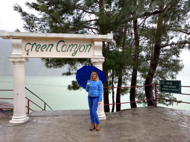 Грин-каньон-зимой