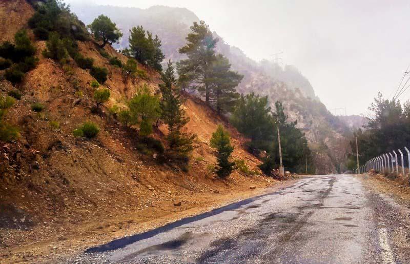 Грин-каньон-дорога