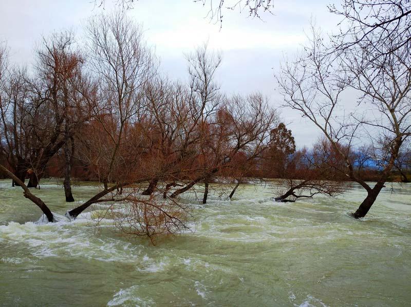 водопад Манавгат зимой