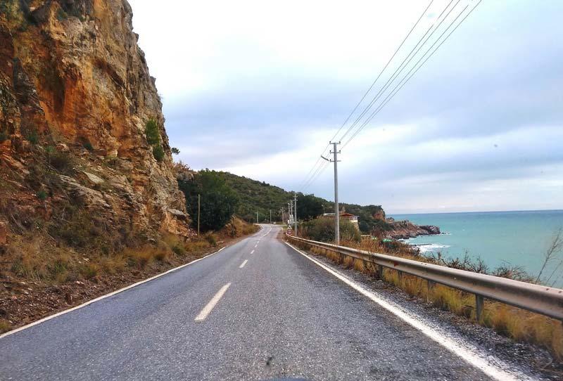 побережье-Турции-зимой